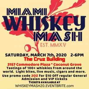 Miami Whiskey Mash 2020